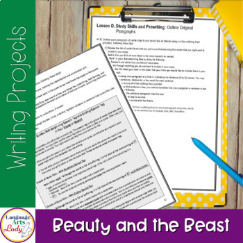 Write On, Beauty & the Beast!  Level III