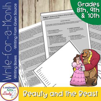 Write On, Beauty & the Beast! Level V