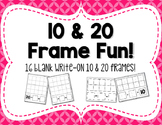 Write-On Blank Ten  &  Twenty Frames