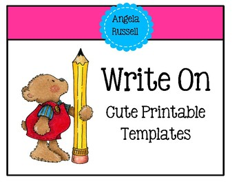 Write On - Cute Printable Templates