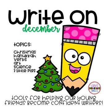 Write On... Monthly DECEMBER Bundle