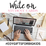 Write On End-of-the-Year Gifts for Students #EOYGiftsforBigKids