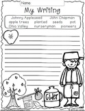 Write On! Hello Writing: A Fun Seasonal Sheet {Johnny Appleseed Freebie}