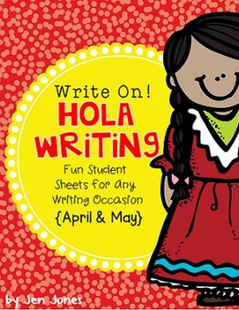 "Write On! Hello Writing: Fun Sheets for ""Work on Writing"" {Apr/May Edition}"
