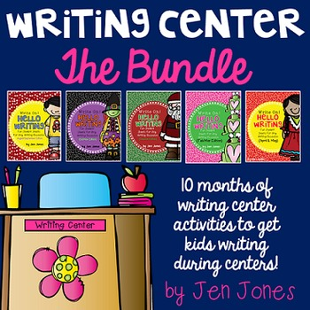 """Write On! Hello Writing: Fun Sheets for """"Work on Writing"""" {The Bundle}"""