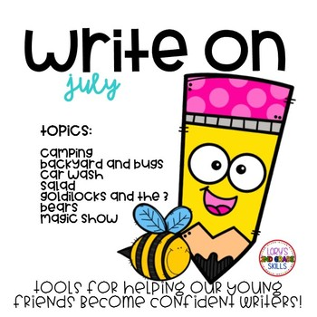 Write On... Monthly JULY Bundle