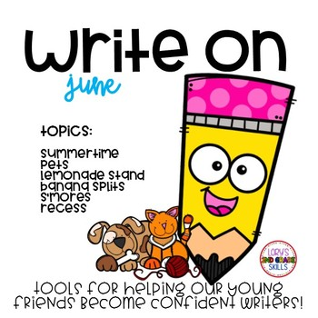 Write On... Monthly JUNE Bundle
