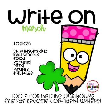Write On... Monthly MARCH Bundle