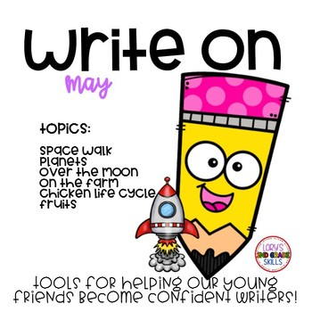 Write On... Monthly MAY Bundle