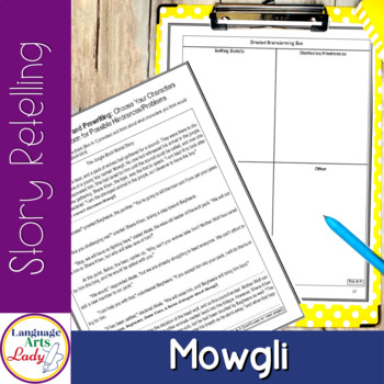 Write On, Mowgli Level IV