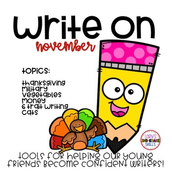 Write On... Monthly NOVEMBER Bundle