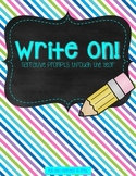 Write On! {Narrative Prompts Through the Year}