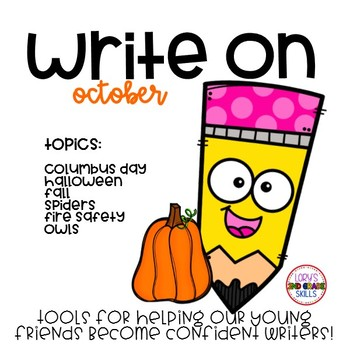 Write On... Monthly OCTOBER Bundle