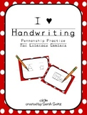 Write On! Penmanship Literacy Center Activity