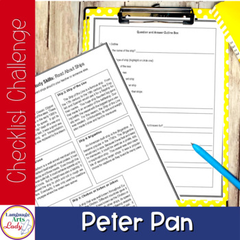 Write On, Peter Pan! -- Level I