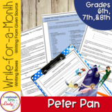 Writing Activities for a Month   Peter Pan Level III