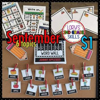 Write On... Monthly SEPTEMBER Bundle