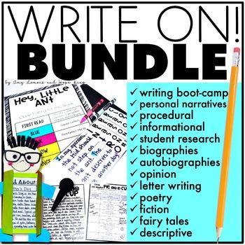 Write On!  The BUNDLE