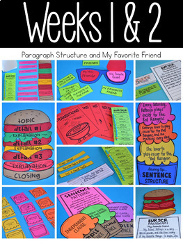 Write On! Unit 4:  Informational and Paragraph Writing