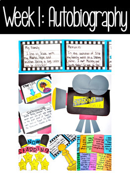 Write On!  Unit 6:  Autobiographies and Biographies {10 Day Unit}