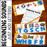 Beginning Sounds Kindergarten Activities
