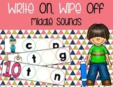 Write On, Wipe Off {Middle Sounds}
