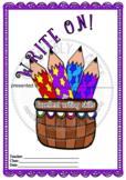 Write On! Writing Award