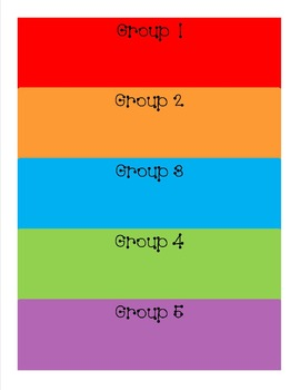 Write On/Wipe Off Group Poster