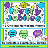 CREATIVE HUMOROUS POETRY   READING and WRITING   Gr. 4-5-6   POETRY JUBILEE