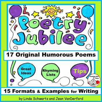 CREATIVE HUMOROUS POETRY | READING and WRITING | Gr. 4-5-6 | POETRY JUBILEE