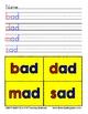 Write & Read - CVC Word Families