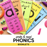 Write & Read Phonics Books - The Complete Set