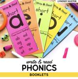Write & Read Phonics Books - The Complete Set