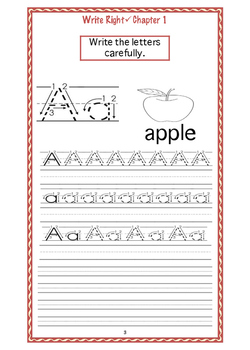 EFL Write Right Chapter 1- The Alphabet