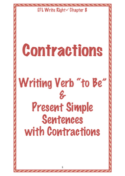 EFL Write Right Chapter 8- Contractions