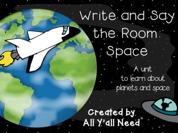 Write & Say the Room: Space