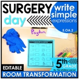 5.OA.2 | Write Simple Expressions | 5th Grade Doctor Room