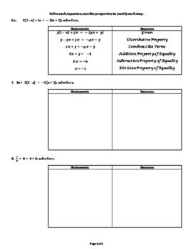 Write, Solve & Interpret Equations & Inequalities