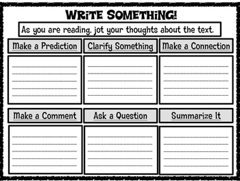 Write Something Text Based Organizer