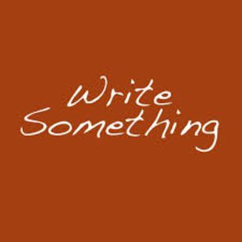 Write Something Writing Strategy