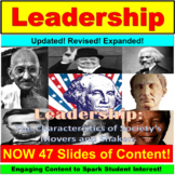 Leadership Lesson and Activities: AVID or ALL Subjects