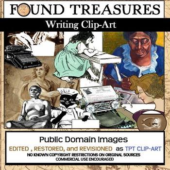 Write Stuff Clip-Art Bundle: 80 Pieces Clip-Art Variety!