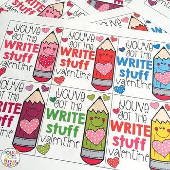 Write Stuff Valentines