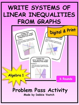 Write Systems of Linear Inequalities from Graphs Problem P