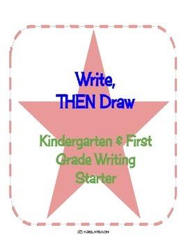 Write, THEN Draw