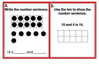 Write The Number Sentence Task Cards