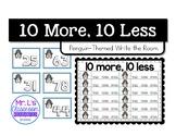 Write The Room - 10 more, 10 less (Penguin Theme)