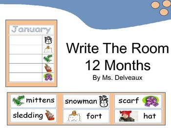 Write The Room 12 Months