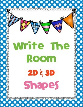 Write The Room - 2D & 3D Shapes