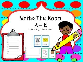 Write The Room  A -E